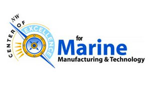 marine manufacturing and technology logo