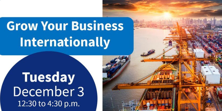 Event Promo Photo For Grow Your Business Internationally